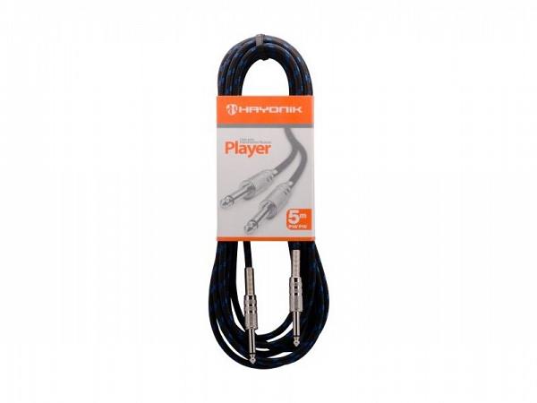 CABO HAYONIK PLAYER INSTRUMENTO TEXTIL P10 X P10 5MT