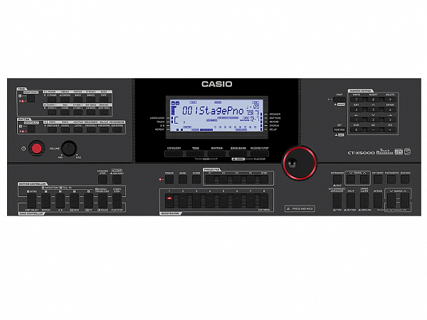 TECLADO CASIO DIGITAL CT X5000 C2 BK