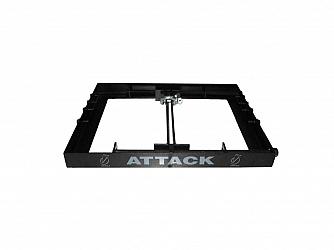 BUMPER ATTACK VRV 206/112 -PRETO