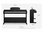 PIANO ROLAND DIGITAL RP102-BKL
