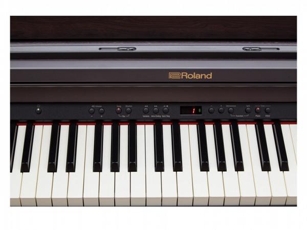 PIANO ROLAND DIGITAL RP501R CB C/ BANQUETA