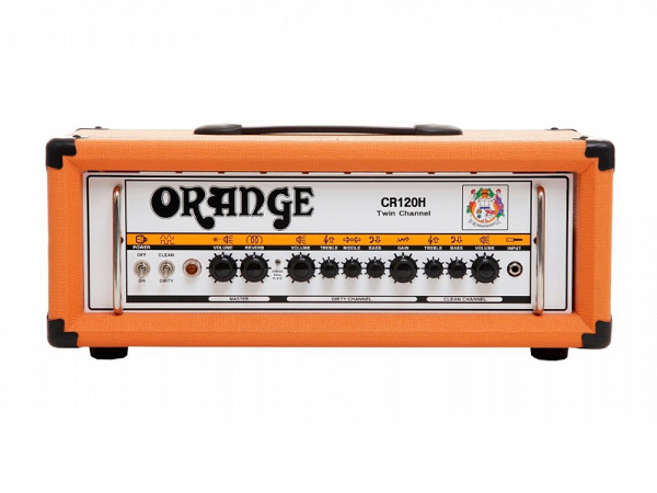 CABEÇOTE ORANGE GUITARRA CR 120H CRUSH PRO