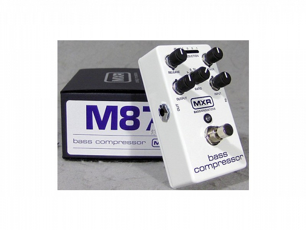 PEDAL MXR M87 BASS COMPRESSOR