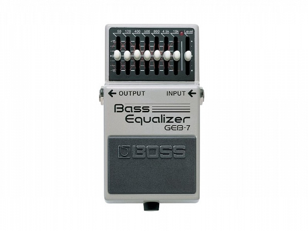 PEDAL BOSS EQUALIZER BASS GEB 7