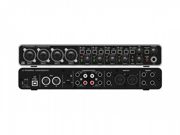 INTERFACE DE AUDIO BEHRINGER U PHORIA UMC404HD