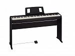 PIANO ROLAND DIGITAL FP10 BK COM ESTANTE E PEDAL