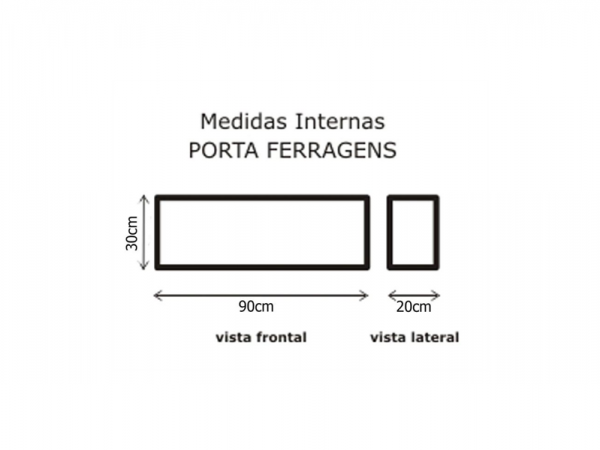 SEMI CASE SOLID LUXO FERRAGENS C/ RODA