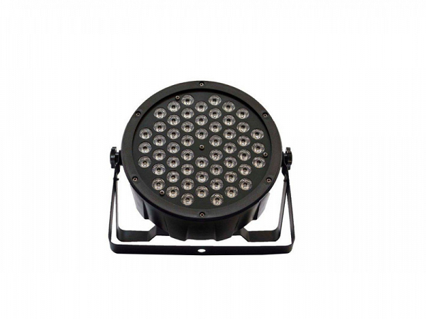 REFLETOR PLS LED MEGA SLIM PAR 54 RGBW LED 5W 8 CH
