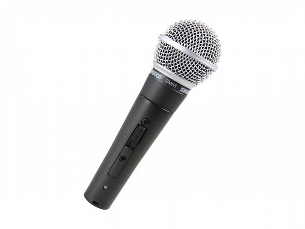 MICROFONE SHURE SM 58S C/ CHAVE
