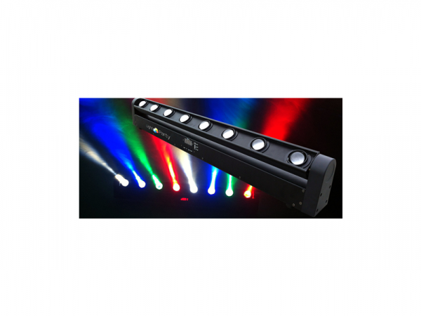 RIBALTA MOVING BEAM RGBW 8 X 10 QUADRILED DMX MP W005