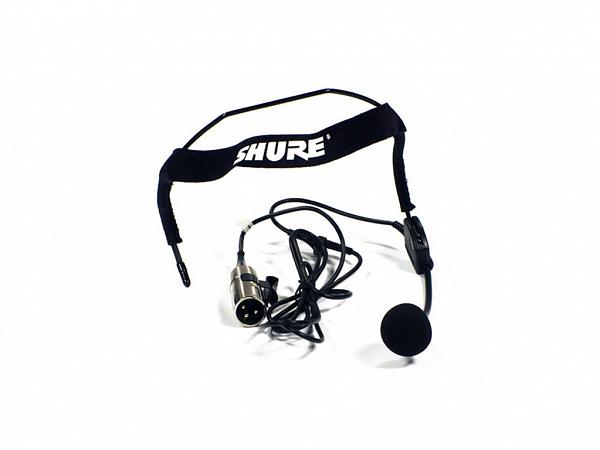 MICROFONE SHURE WH 20 HEADSET COM FIO XLR