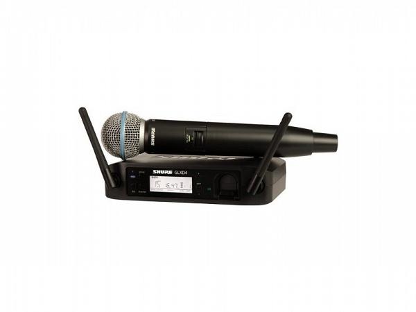 MICROFONE SEM FIO SHURE GLXD24BR/BETA58