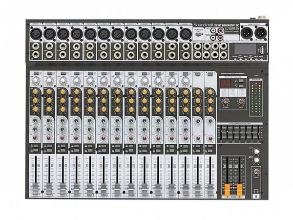 MESA SOUNDCRAFT SX1602 FX-USB