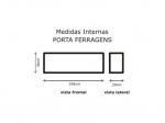 SEMI CASE SOLID LUXO FERRAGENS C/RODA GR